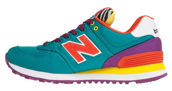 new balance WL574 RP POP SAFARI [TEAL / BERRY / YELLOW] WL574