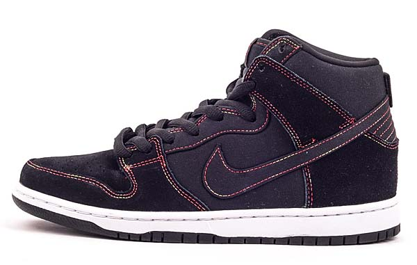 NIKE DUNK HIGH PRO SB [BLACK/BLACK-WHITE] 305050-012