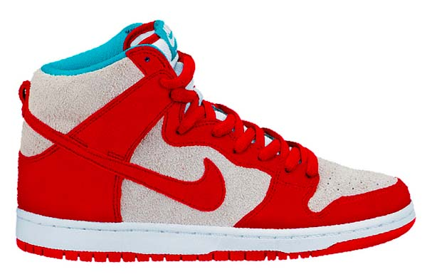 NIKE DUNK HIGH PRO SB [GYM RED/GYM RED-WHITE] 305050-661