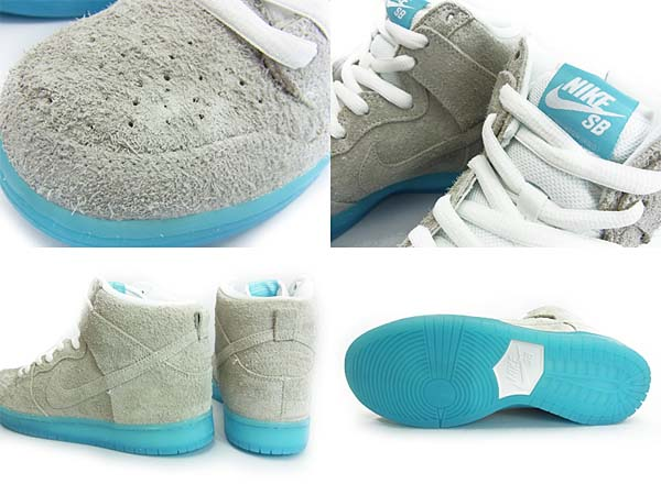 NIKE DUNK HIGH PRO SB CHAIRMAN BAO [WHITE/WHITE-POLARIZED BLUE] 313171-114