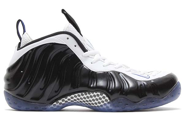 NIKE AIR FOAMPOSITE ONE [BLACK/WHITE-GAME ROYAL] 314996-005