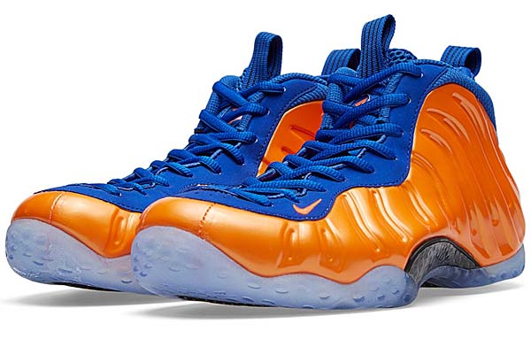 NIKE AIR FOAMPOSITE ONE KNICKS [TOTAL CRIMSON / GAME ROYAL] 314996-801