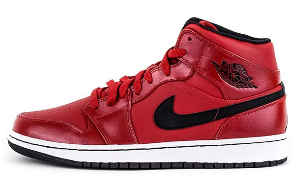 NIKE AIR JORDAN 1 MID [GYM RED / BLACK-WHITE] 554724-602