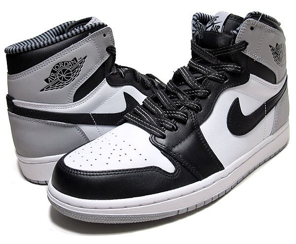 NIKE AIR JORDAN 1 RETRO HIGH OG BARONS [WHITE/BLACK-WOLF GREY] 555088-104