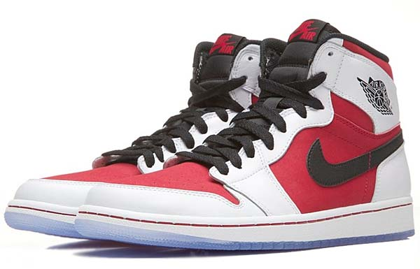 NIKE AIR JORDAN 1 RETRO HIGH OG CARMINE [WHITE/CARMINE-BLACK] 555088-123