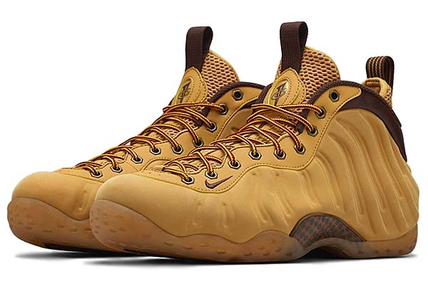 NIKE AIR FOAMPOSITE ONE WHEAT [HAYSTACK / TRACK BROWN] 575420-700
