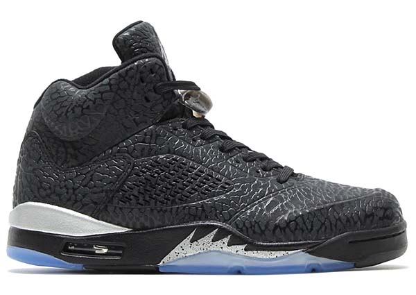 NIKE AIR JORDAN 3LAB5 [BLACK / BLACK-METALLIC SILVER] 599581-003
