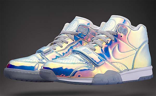 NIKE AIR TRAINER 1 MID NYC QS [MULTI-COLOR/ICE BLUE] 607081-900