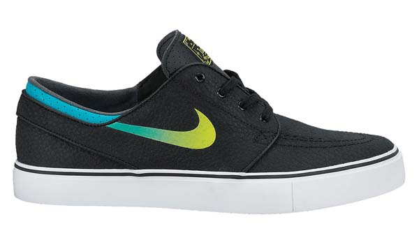 NIKE SB ZOOM STEFAN JANOSKI LEATHER [BLACK/VNM GREEN-TRB GRN-WHITE] 616490-031