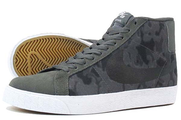 NIKE BLAZER SB PREMIUM SE [DARK BASE GREY/BLACK/WHITE] 631042-091