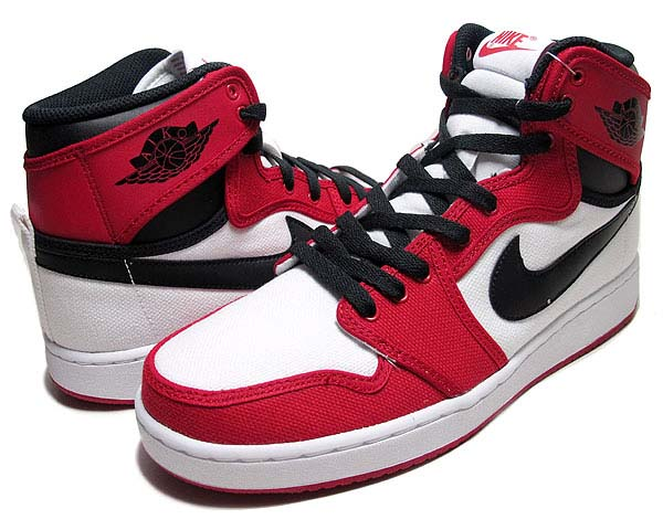 NIKE AIR JORDAN 1 RETRO AJKO RETRO HIGH [WHITE/VARSITY RED/BLACK] 638471-101