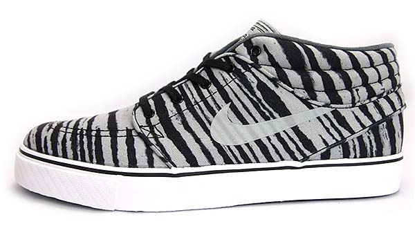 NIKE STEFAN JANOSKI MID PRM [BASE GREY/BLACK-WHITE] 642061-001