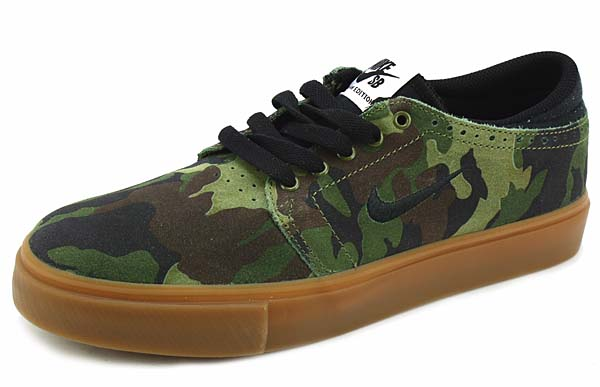 NIKE SB ZOOM TEAM EDITION [MEDIUM OLIVE / BLACK-GM MD BROWN] 642290-202