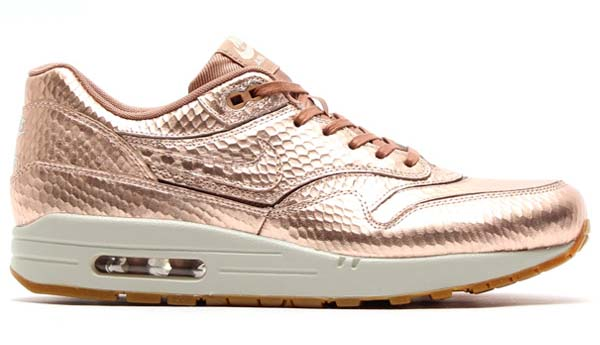 NIKE AIR MAX 1 CUT OUT PRM [MTLC RED BRONZE/MTLC RD BRONZE-LGHT] 644398-900