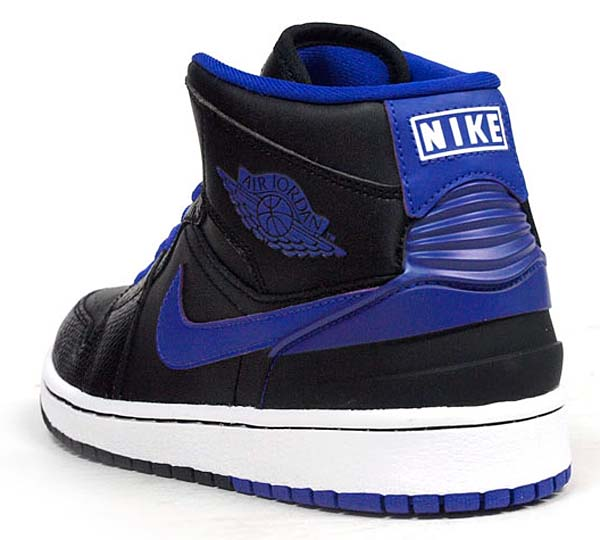 NIKE AIR JORDAN 1 RETRO 86 [BLACK/DARK CONCORD-WHITE] 644490-014