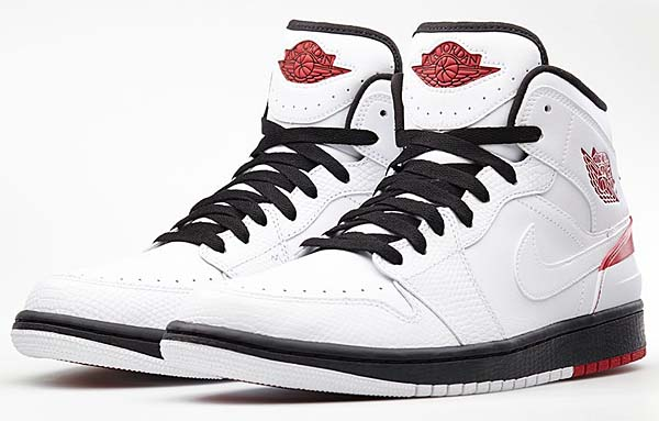 NIKE AIR JORDAN 1 RETRO 86 [WHITE/GYM RED-BLACK] 644490-101
