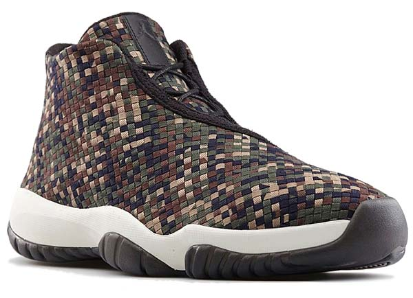 NIKE AIR JORDAN FUTURE PREMIUM [DARK ARMY/BLACK/SAIL] 652141-301