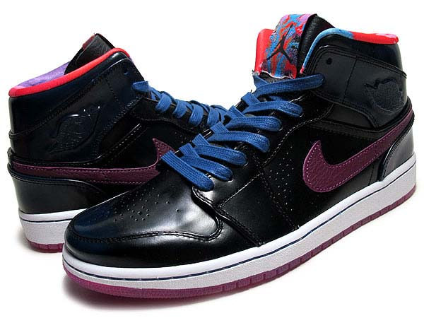 NIKE AIR JORDAN 1 MID NOUVEAU YOTH [YEAR OF THE HORSE 2014] 652484-405