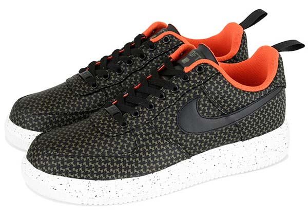 NIKE LUNAR FORCE 1 UNDFTD SP [BLACK/BLACK-MEDIUM OLIVE] 652805-003