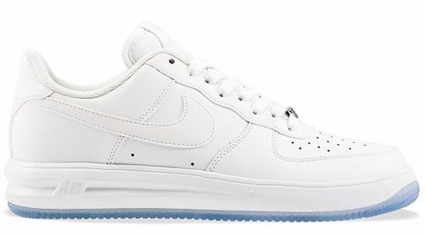 NIKE LUNAR FORCE 1 '14 WHITE ON ICE [WHITE/WHITE-WHITE] 654256-100