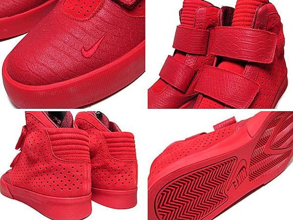 NIKE FLYSTEPPER 2K3 PREMIUM [GYM RED / GYM RED - WHITE] 677473-600