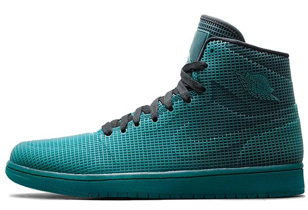 NIKE AIR JORDAN 4LAB1 [BLACK / TROPICAL TEAL] 677690-020