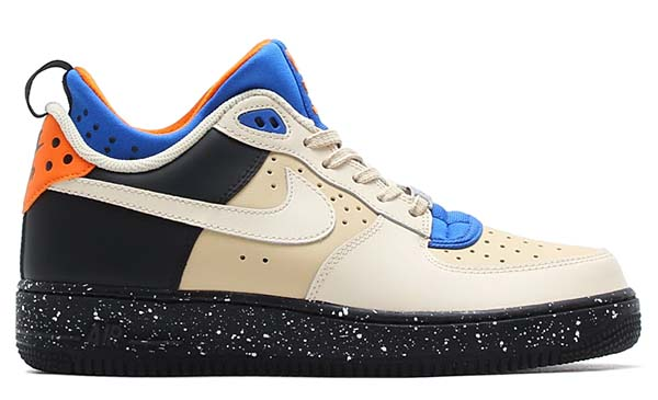 NIKE AIR FORCE 1 CMFT MOWABB [SAND DUNE / BLACK-COPPER FLASH] 685159-201