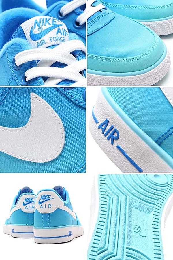 NIKE AIR FORCE 1 AC BR QS [POLARIZED BLUE / WHITE] 694861-400