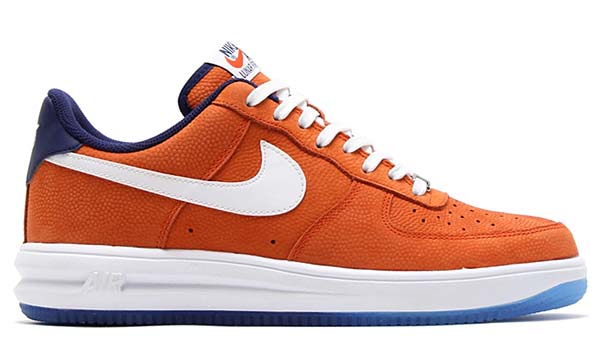 NIKE LUNAR FORCE 1 LOW 'WORLD BASKETBALL FESTIVAL' [TEAM ORANGE / WHITE-LOYAL BLUE] 704009-800