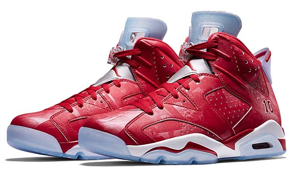NIKE AIR JORDAN 6 RETRO 'SLAM DUNK' COLLECTION 717302-600