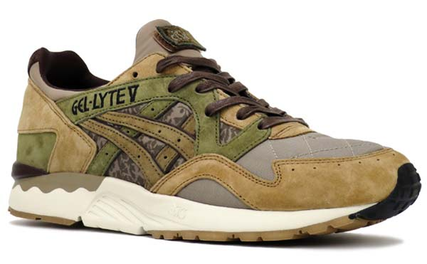 ASICS Tiger x SBTG x KICKS LAB. GEL-LYTE V PHYS ED [SAND / GREEN / BROWN] tq6j3q-6061