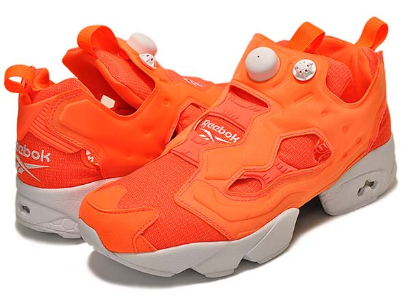 Reebok INSTA PUMP FURY TECH [SOLAR ORANGE / WHITE] M46319