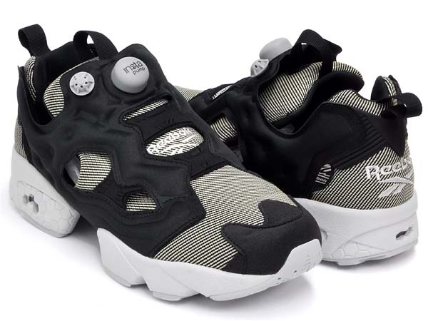 Reebok INSTA PUMP FURY TECH [BLACK/STEEL] M47611
