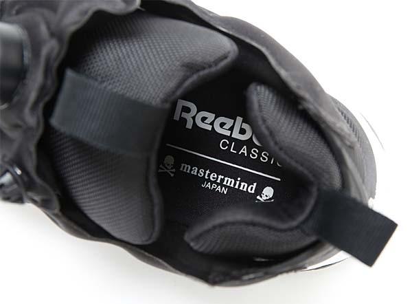 Reebok CLASSIC x mastermind JAPAN INSTA PUMP FURY AFFILIATES [MASTERMIND-BLK / WHITE / SLVR] V67122