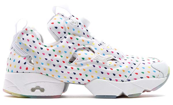 Reebok INSTA PUMP FURY OG RAIN DROP [WHITE/RAINBOW] V68678