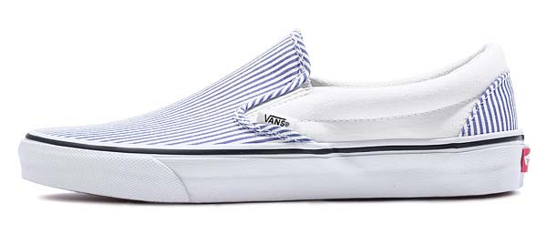VANS CLASSIC SLIP-ON Deck Club [TRUE WHITE] 0ZMRFD7