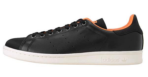 adidas Originals x PORTER Stan Smith [BLACK / ORANGE] 386-10250