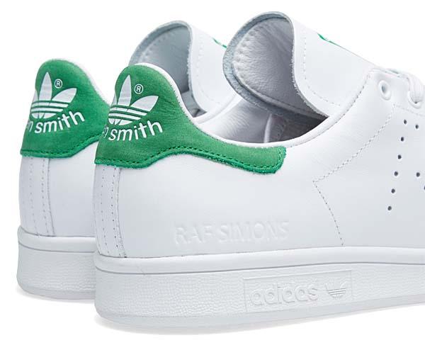 adidas by RAF SIMONS STAN SMITH [FTWWHT / GREEN / FTWWHT] B24051
