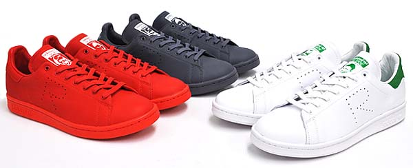 adidas by RAF SIMONS STAN SMITH [FTWWHT / GREEN / FTWWHT] B24051