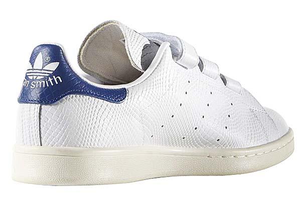 adidas Originals STAN SMITH CF [Running White / Green / Cream White] B24535