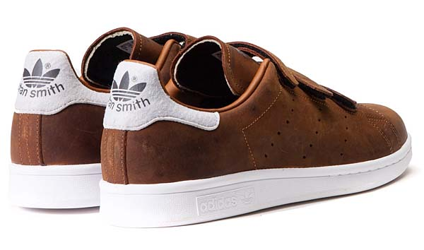 adidas Originals STAN SMITH CF [DUST RUST / NIGHT BROWN]  B24537