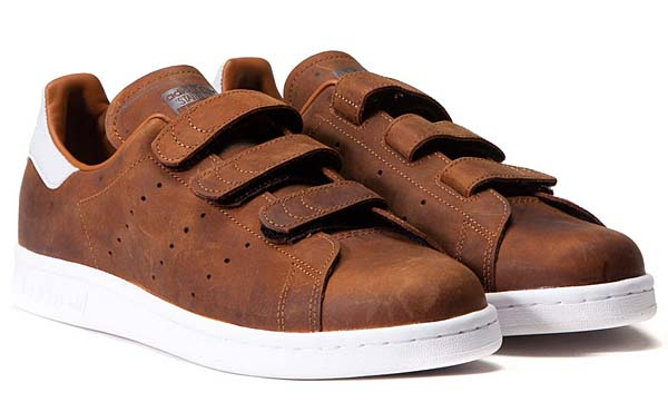 adidas Originals STAN SMITH CF [DUST RUST / NIGHT BROWN]  B24537