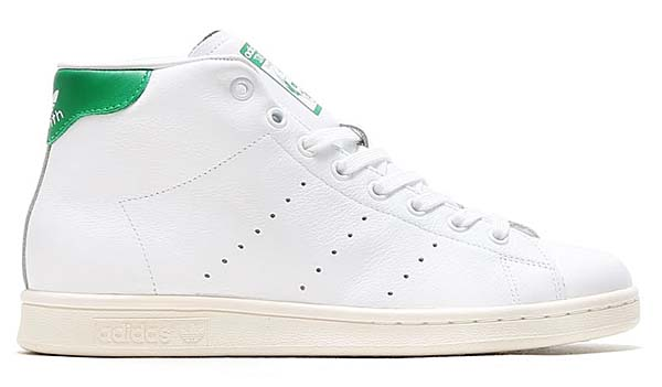 adidas Originals STAN SMITH MID [RUNWHITE / GREEN / CWHITE] B24538