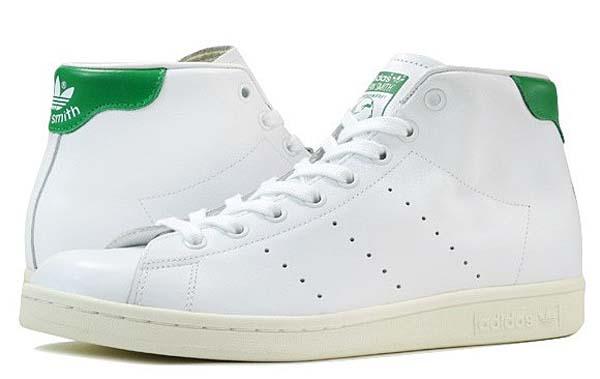 adidas Originals STAN SMITH MID [RUNWHITE / GREEN / CWHITE] B24538