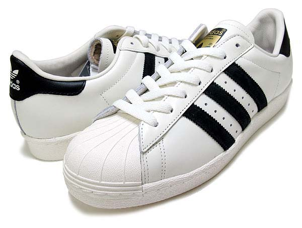 adidas Originals SUPER STAR 80s VINTAGE DX [Vintage White/Core Black] B25963
