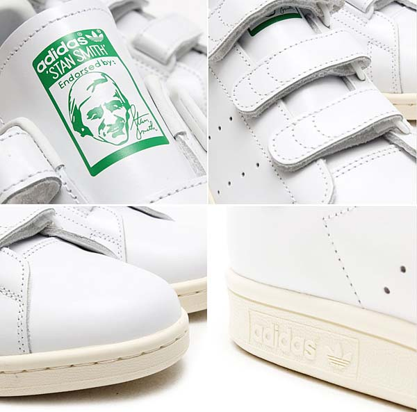 adidas Originals by NIGO STAN SMITH CF NIGO [RUNNING WHITE / RUNNING WHITE / GREEN] B26000