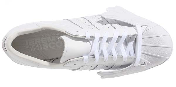 adidas Originals by Jeremy Scott SUPERSTAR WINGS [RUNNING WHITE] B26282