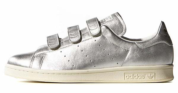adidas Originals by NIGO STAN SMITH CF NIGO [SILVER MET / SILVER MET / CORE BLACK] B26561