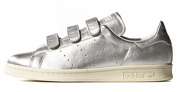 adidas Originals by NIGO STAN SMITH CF NIGO [SILVER MET / SILVER MET / CORE BLACK] B26561