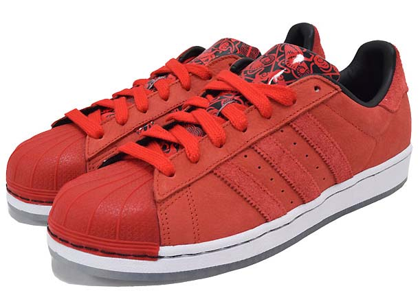 adidas SUPER STAR Chinese New Year Pack 羊年 [RED/WHITE] B27132